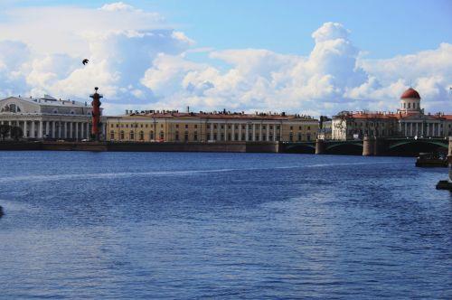 Rostral Column From Neva River