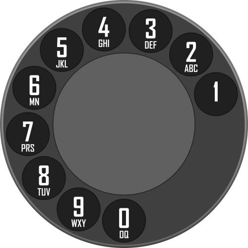 rotary dial dialer