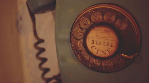 rotary telephone vintage antique