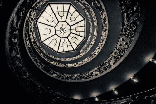 rotate stairs spiral