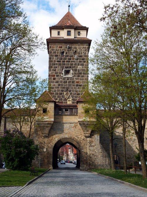 rothenburg  galgentor  goal