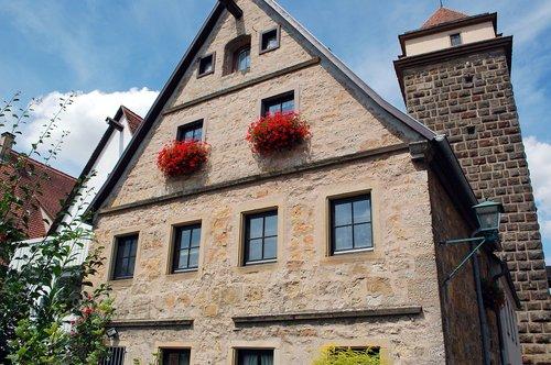 rothenburg  house  architecture