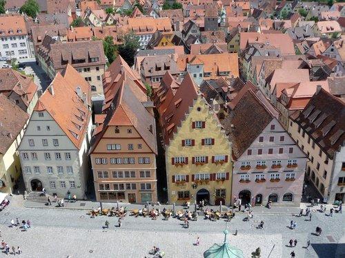 rothenburg  tauber  marketplace