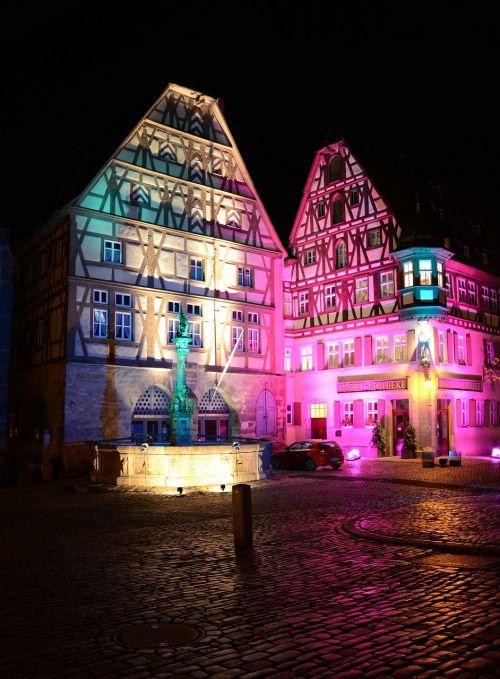 rothenburg ob der tauber germany buildings