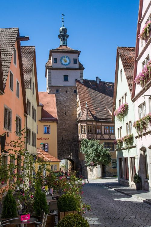 rothenburg of the deaf rothenburg old town