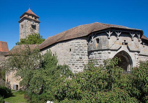 rothenburg of the deaf hospital bastei fortress