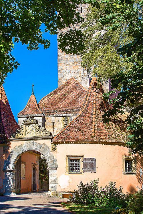 rothenburg of the deaf bastei city gate