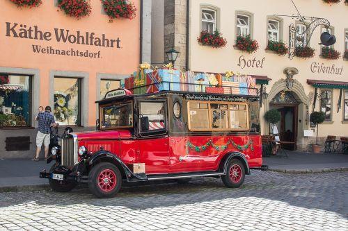 rothenburg of the deaf oldtimer christmas market