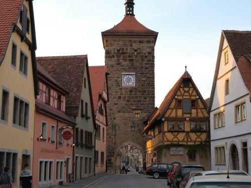rothenburg of the deaf sieber storm old town