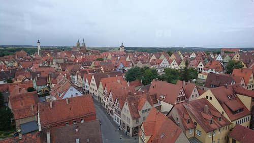 rothenburg tauber  rothenburg  old town