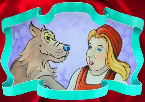rotkäppchen image fairy tales