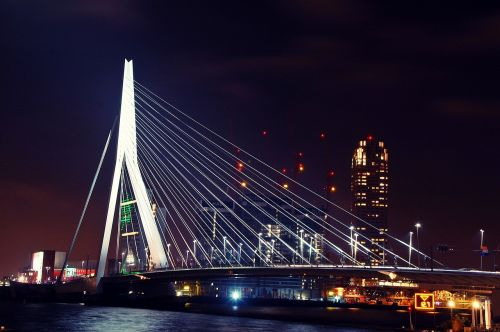 rotterdam bridge architecture