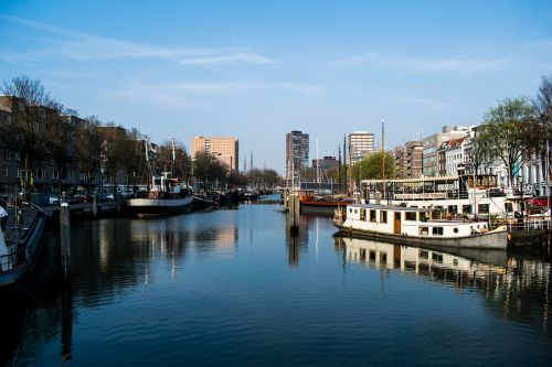 rotterdam harbour boats