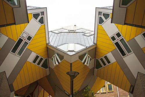 rotterdam cube houses modern building