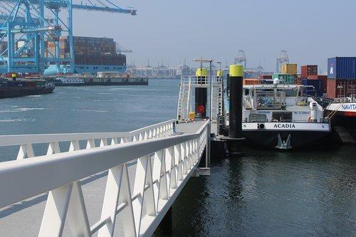 rotterdam  port  inland
