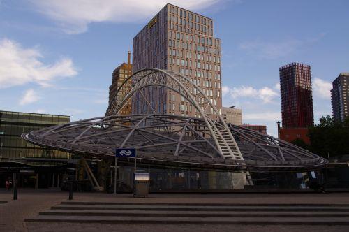 Rotterdam Blaak Train Station