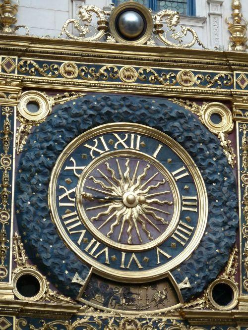 rouen clock normandy
