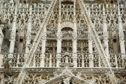 rouen normandy cathedral