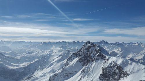 kietas ragas,Alpių,tannheimer kalnai,kalnas,Allgäu,aukščiausiojo lygio susitikimas,uolingas,kietas,austria,Allgäu Alpės,sniegas,žiema,alpinizmas,tannheim,kalnai,Alpių panorama