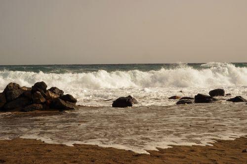 rough sea surf wave