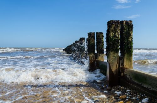 Rough Sea Background