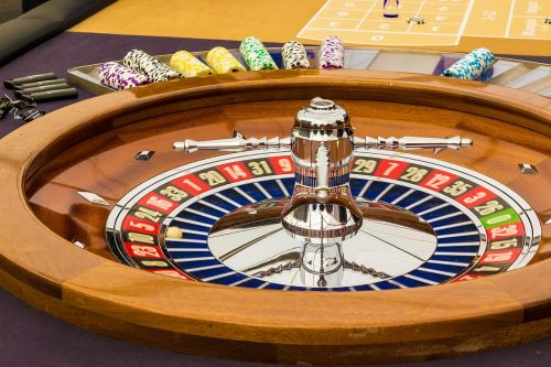 roulette gambling game bank