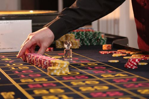 roulette table chips
