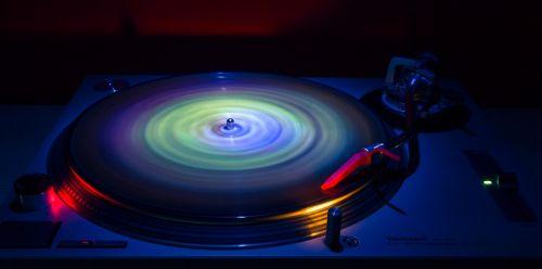 round vinyl record entertainment