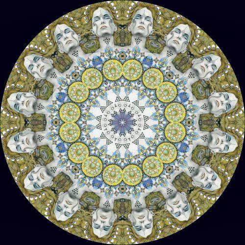 round symmetry pattern