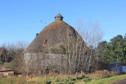 round barn barn rural