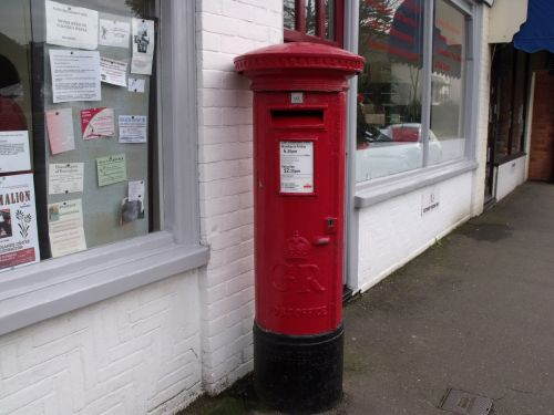 Round Postbox
