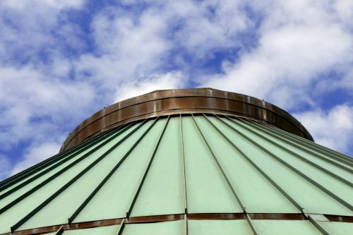 Round Roof Against Sky