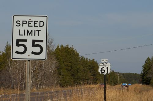 route 61 speed limit 55