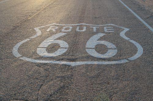 route 66 highway desert