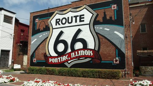 route 66 illinois old