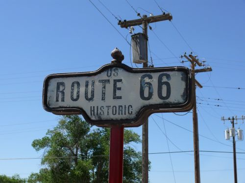 route 66 seligman highway