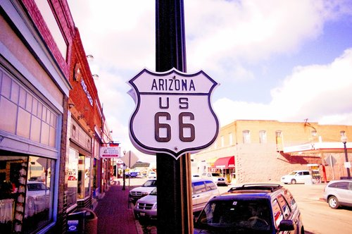 route 66  arizona  usa