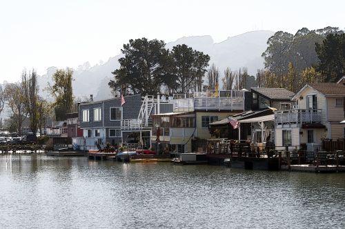 Row Of Houseboats #1