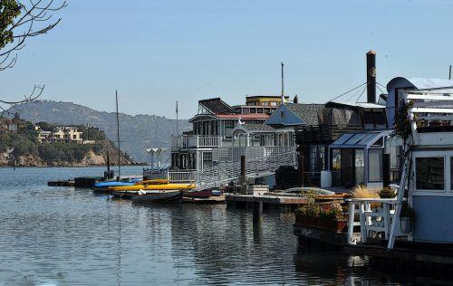 Row Of Houseboats #2