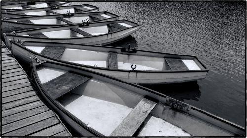 rowboat boat lake