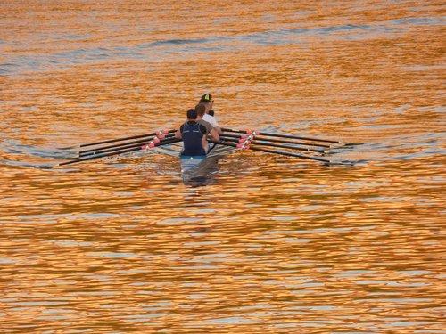 rowboat  boat  river