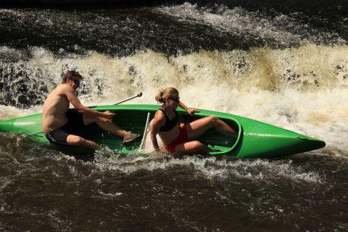 rowboat water canoeing