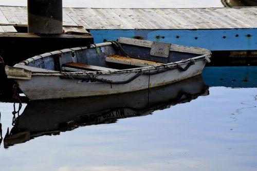 Rowboat Docked