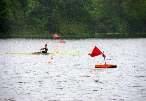 rowing baldeneysee eat