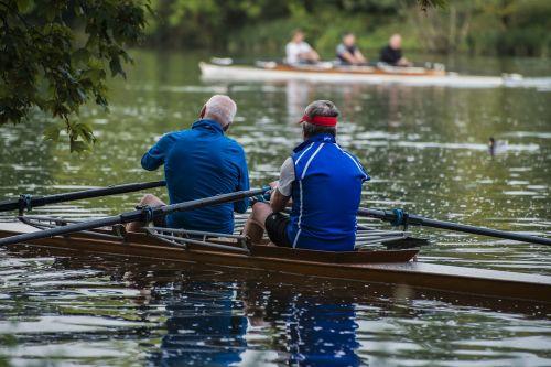 rowing rower danube