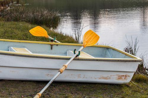 rowing boat rowboat oar