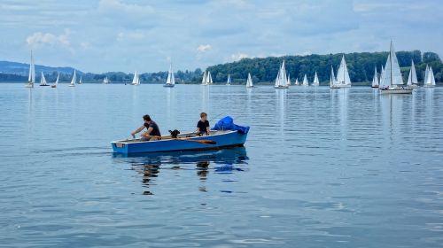 rowing boat rowing sailing boat