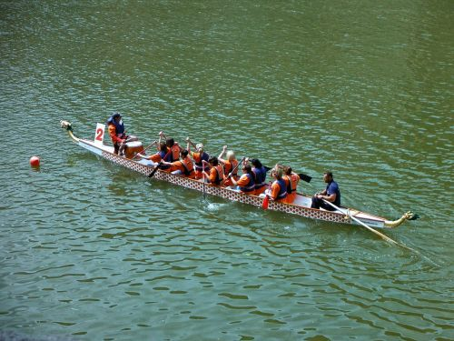 rowing team row boat water sports