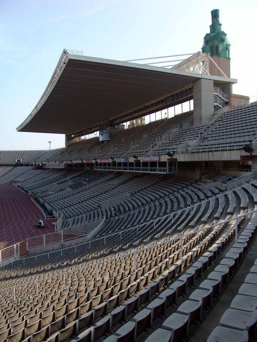 rows of seats stadium football stadium