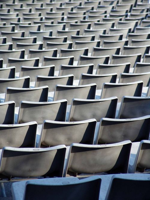 rows of seats,stadium,football stadium,grandstand,auditorium,audience stands,folding chair,barcelona,fc barcelona